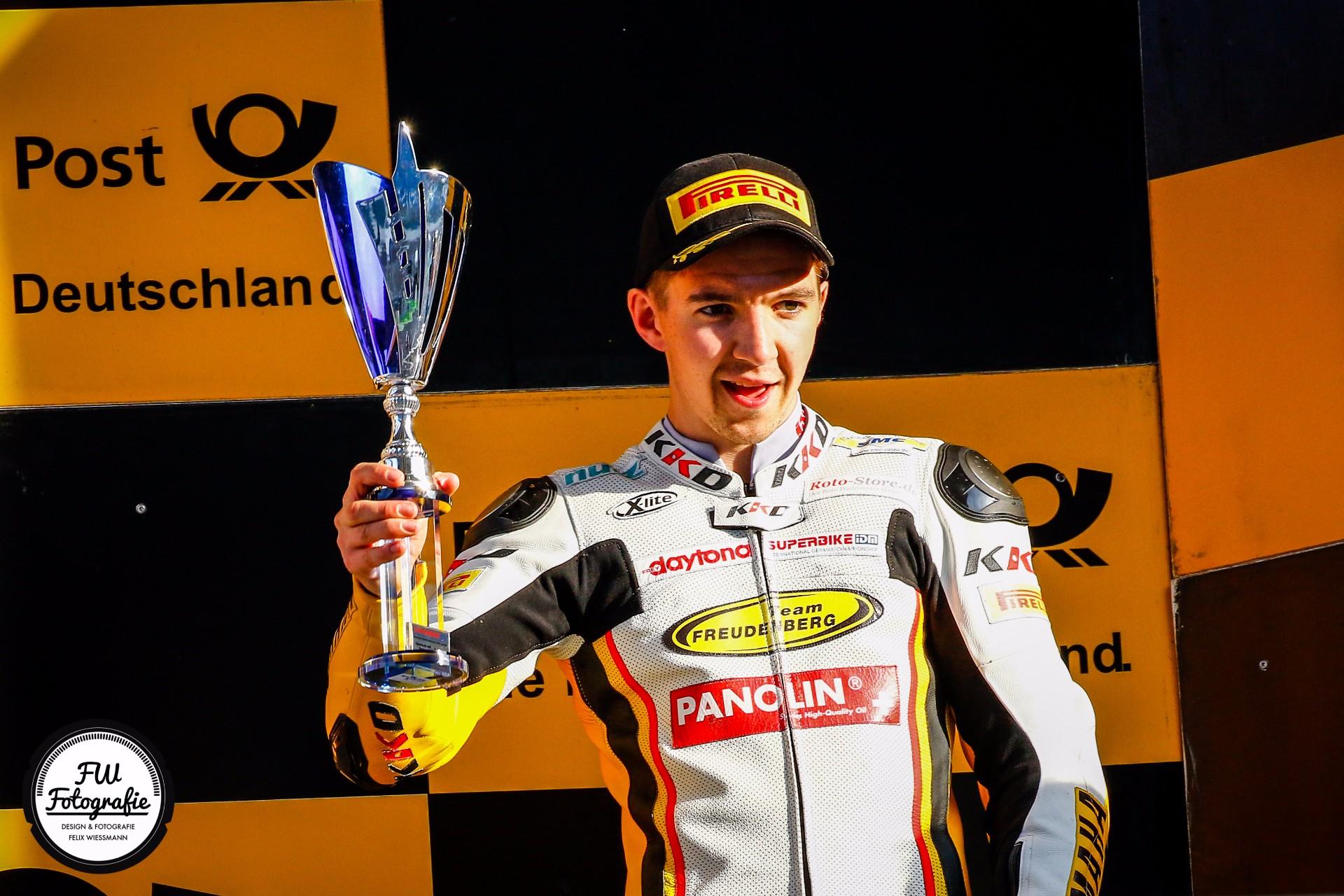 Motorsport Festival in der Lausitz – Luca Grünwald (Yamaha) verteidigt Meisterschaftsführung!