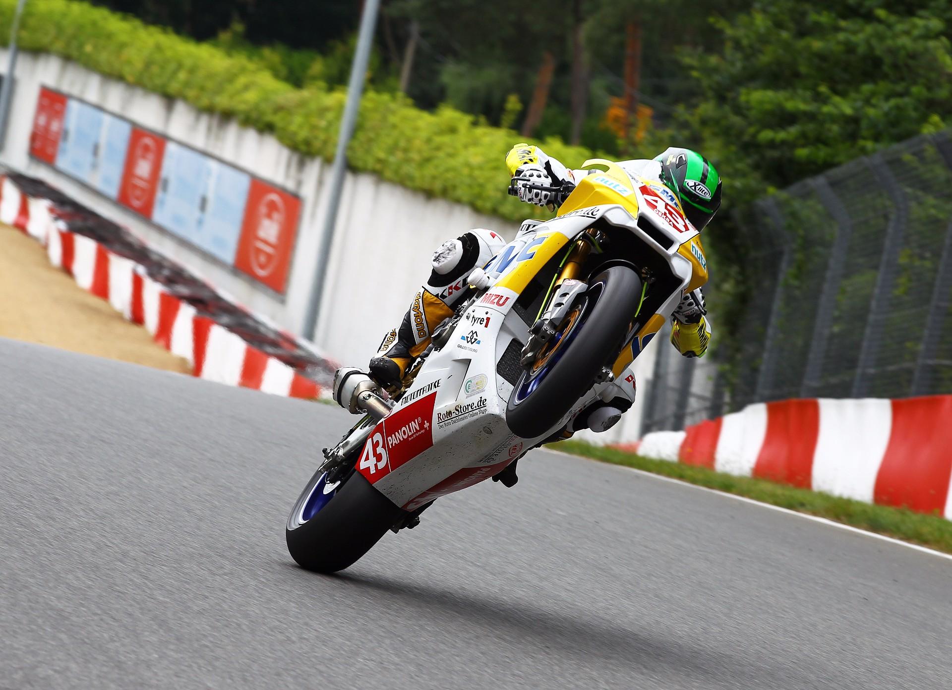 Zolder: Luca Grünwald (Yamaha) – Rennleiter entscheidet über Platz 1!