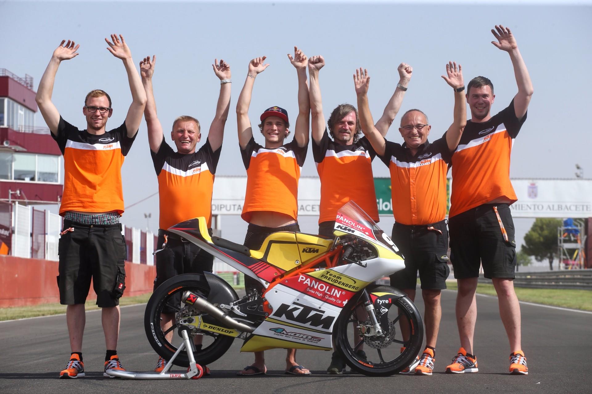 Wildcard beim Finale der MotoGP™