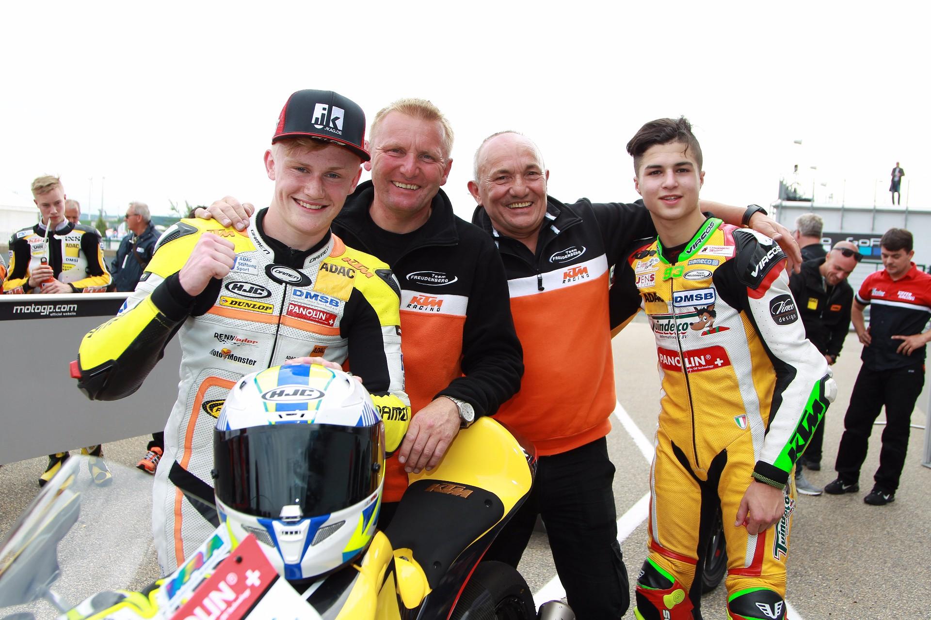 Moto3 WM & NEC – Georgi erntet viel Respekt – Team Freudenberg bei der MotoGP™ am Sachsenring!